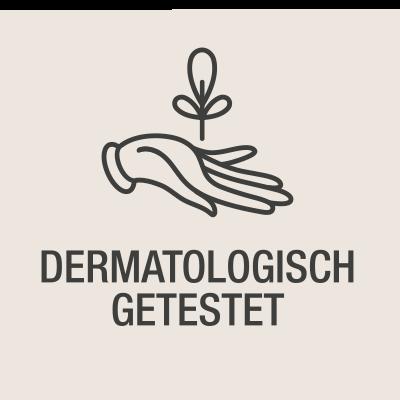 Hand Zweig Dermatologisch getestet