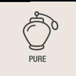 PURE Parfümflasche