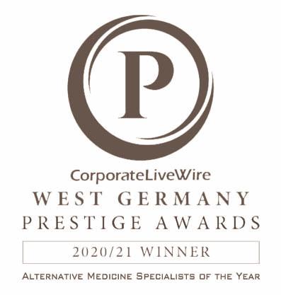 Corporate Live Wire Prestige Awards Alternative Medicine Specialists of the year