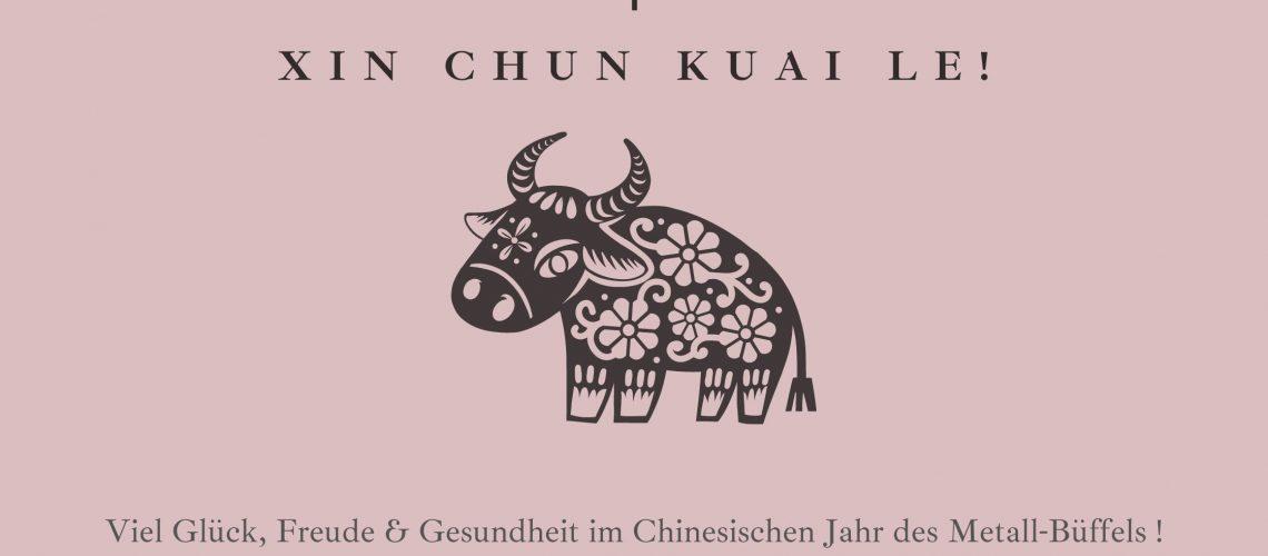 牛 Xin Chun Kuai Le!